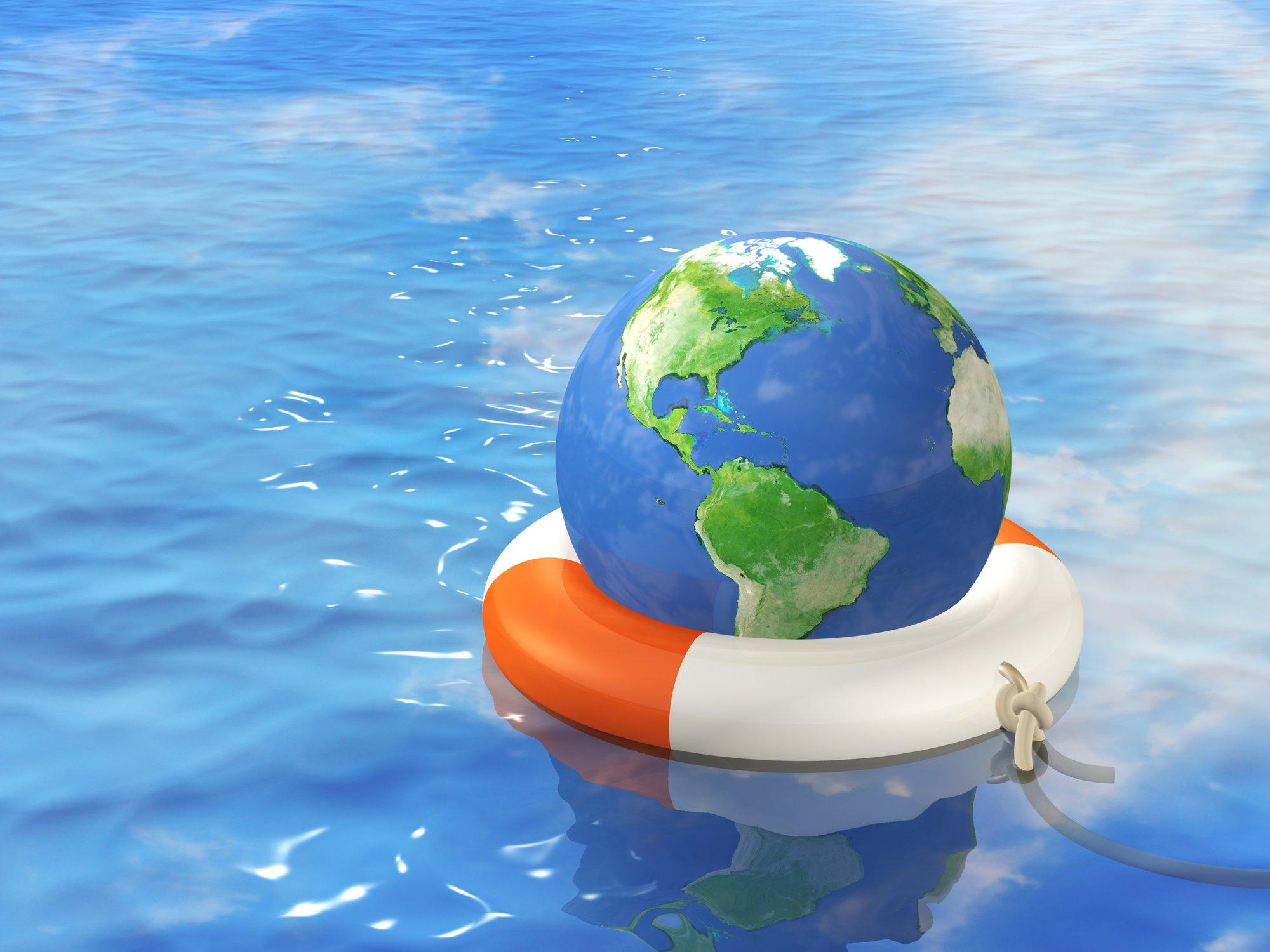 Help in global crisis
