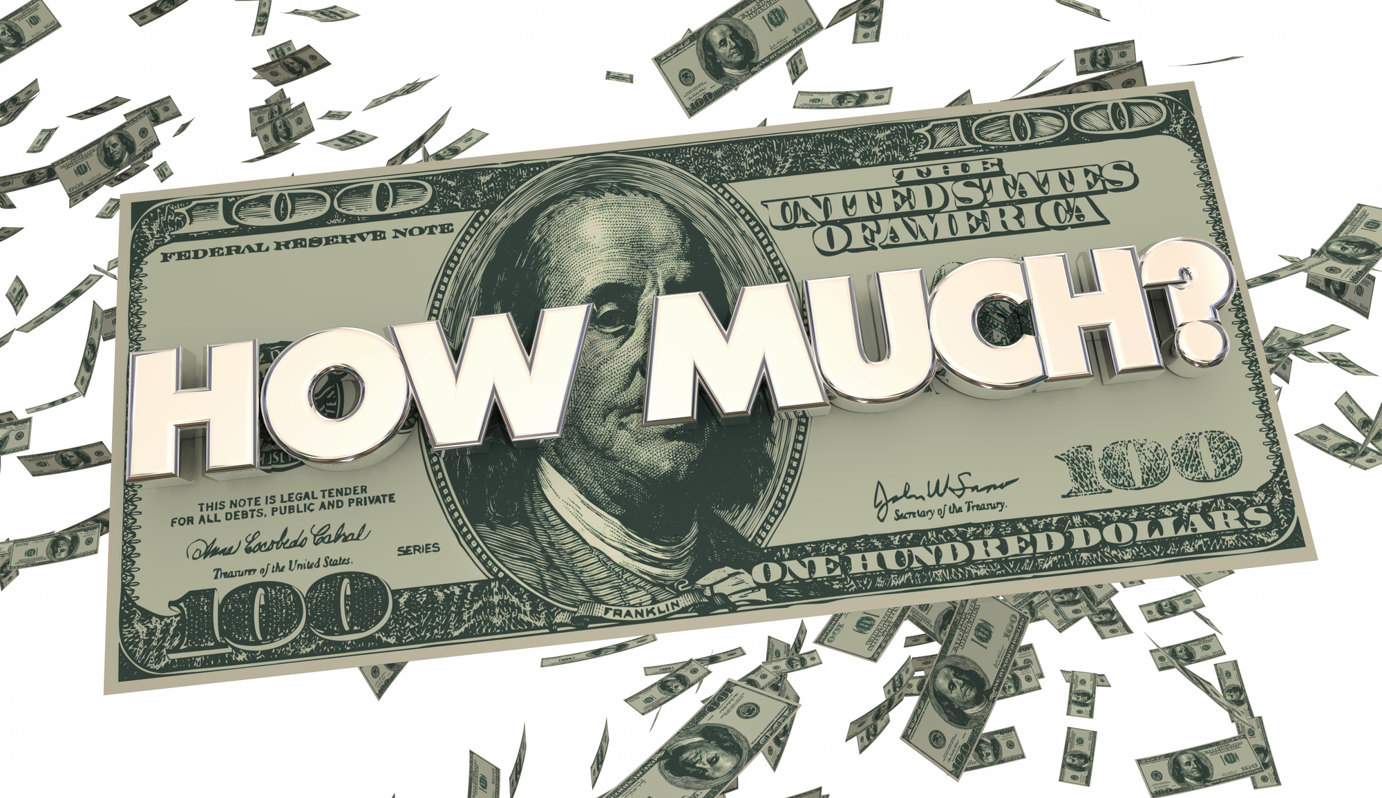 How Much Money Illustration