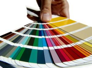 paint palette selections