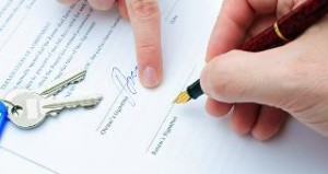 signing of Rental agreement