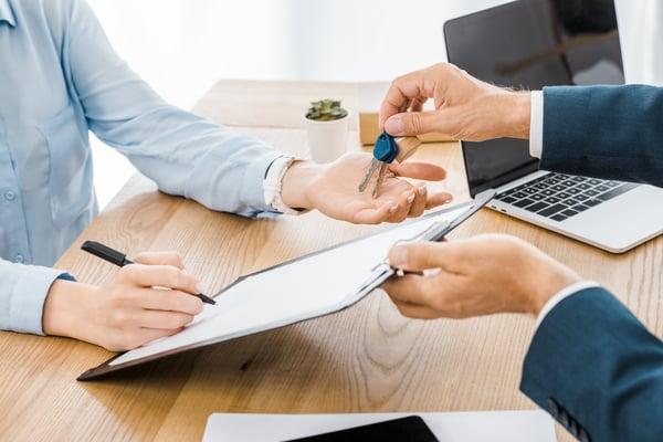 key turnover, property management