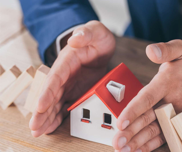 Home insurance, property management